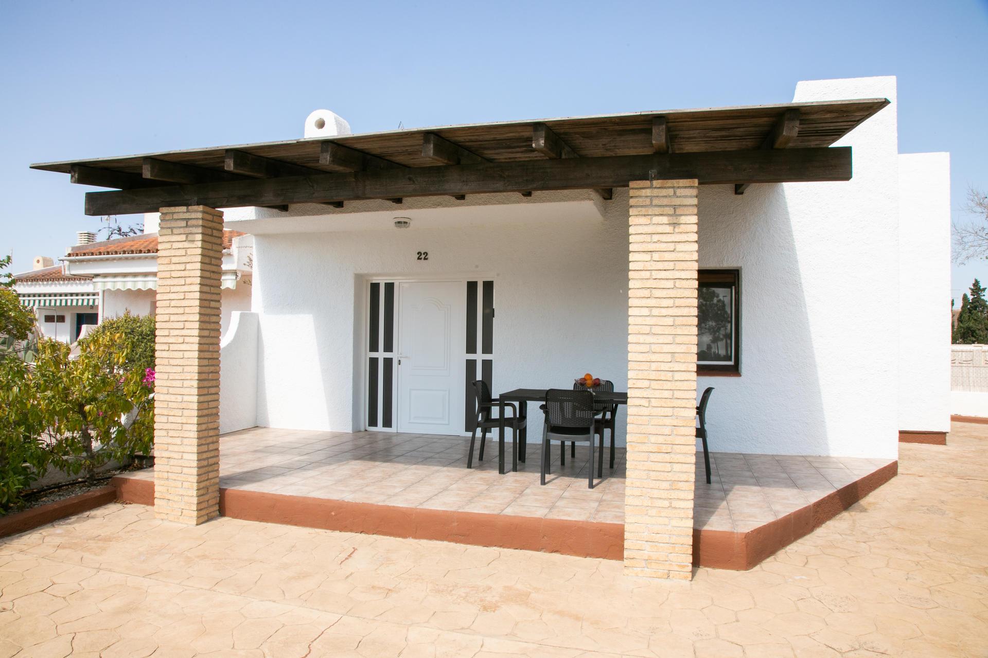 Maison accolée /jumelée -                                       Riumar -                                       2 chambres -                                       4 occupants